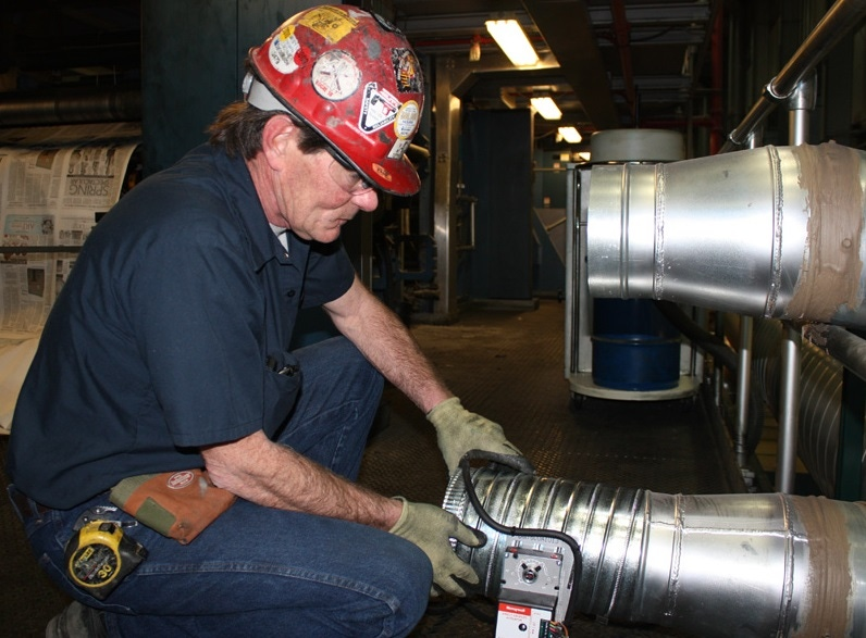 Testing and commissioning procedure for HVAC system.
