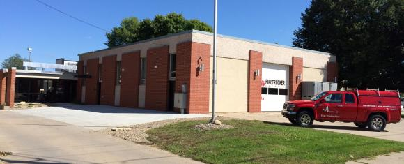 Iowa fire protection for brewery