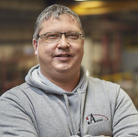 Chad - JF Ahern Fire Protection Shop Foreman