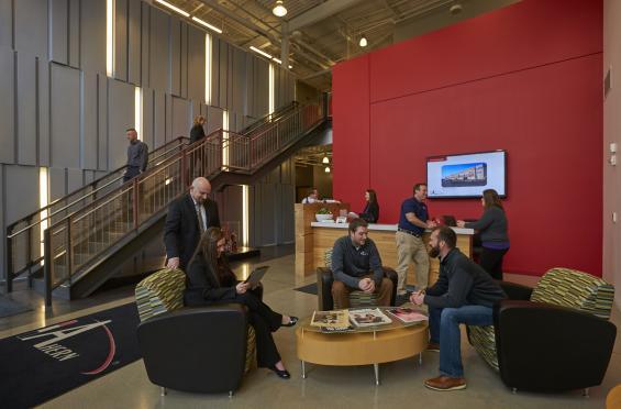 Ahern Milwaukee Office Lobby