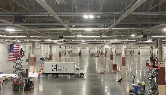 Alternate Care Facility_ WI State Fair Expo