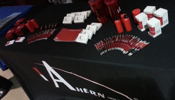 Ahern Career Fair Booth