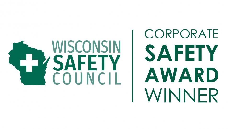 WI Corporate Safety Award